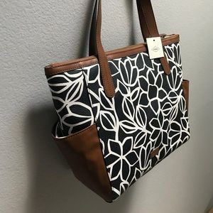 BRAND NEW Fossil Mimi Shopper Tote